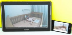 baby monitor con display grande