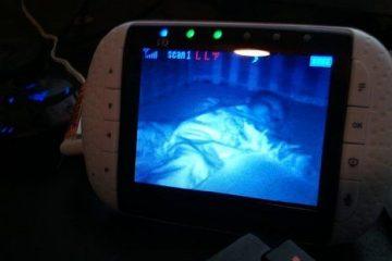 baby monitor visione notturna infrarossi