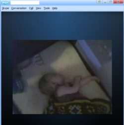 Baby monitor video